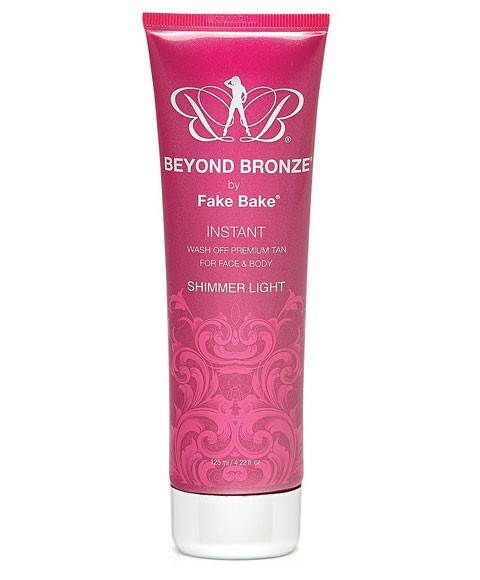 Beyond Bronze Wash Off Tan Face And Body