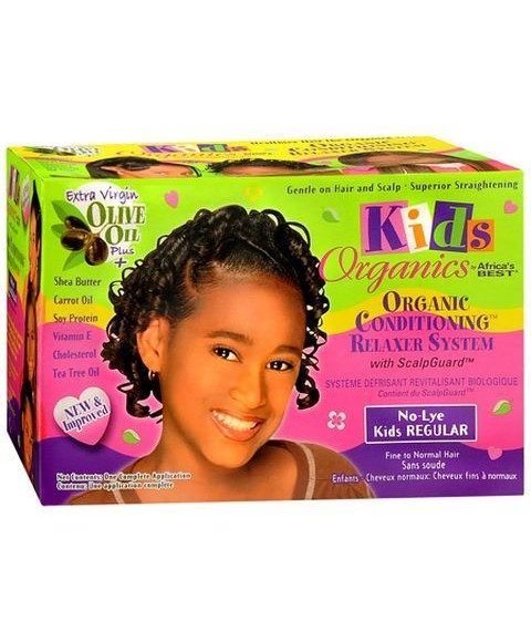 Kids Organics No Lye Conditioning Relaxer System