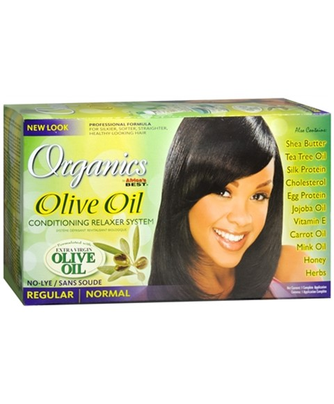 Organics Olive Oil Conditioning No Lye Relaxer