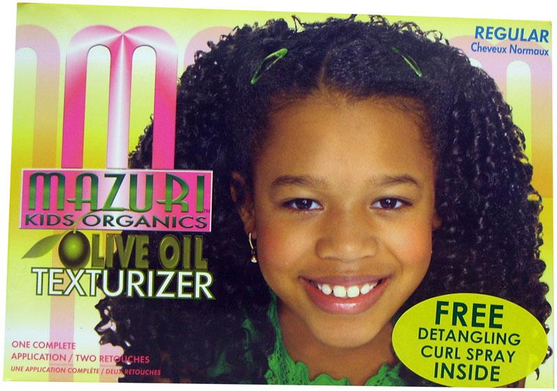 Kids Olive Oil Texturizer Mazuri Original Afro Hair Boutique