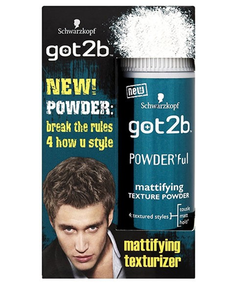 Powder Ful Mattifying Texture Powder Styling Products For Men