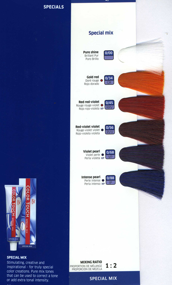 Special Mix Touch Haircolor Color Touch Wella Afro Hair Boutique