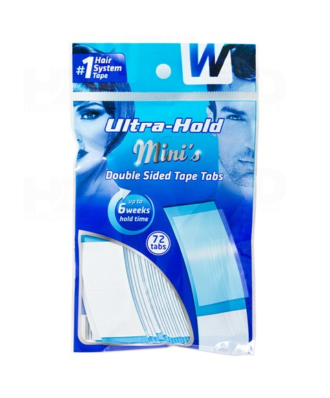 Walker Tape Ultra Hold Minis Double Sided Blue Tape Strips