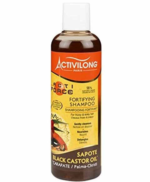 Acti Force Black Castor Oil Fortifying Shampoo