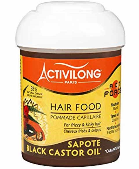 Acti Force Black Castor Oil Hair Food