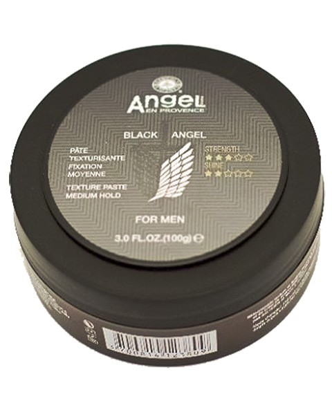 Black Angel For Men Medium Hold Texture Paste