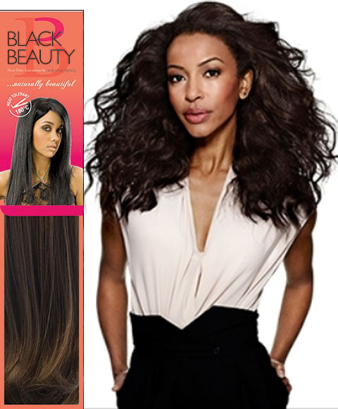 Black Beauty Syn Natural Wave Weave