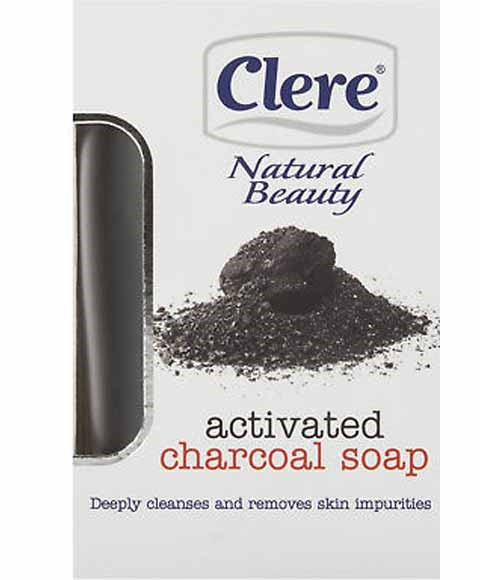 Natural Beauty Activated Charcoal Soap