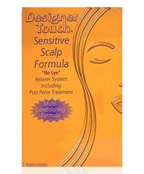 Designer Touch Sensitive Scalp Formula No Lye Relaxer Kit
